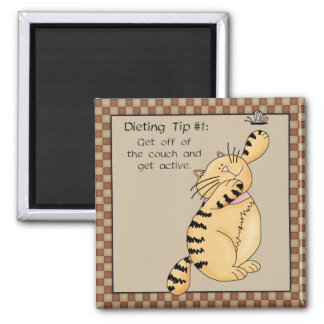 Get Off of the Couch... - Fridge Magnet