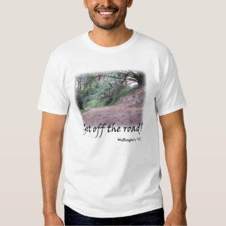 Get off the road, Wellington, NZ T-shirt