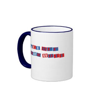 Get Off Your Butt Mug