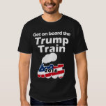 Get on Board Train Donald Trump for President Tshirt