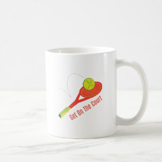 Get on the Court Coffee Mugs