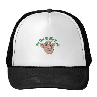 Get Out Of My Yard Trucker Hat