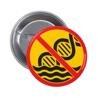 Get Out of the Gene Pool 6 Cm Round Badge