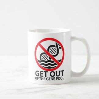 Get Out of the Gene Pool Coffee Mug