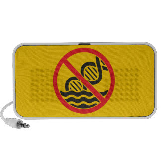 Get Out of the Gene Pool Laptop Speaker