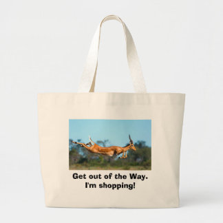 Get out of the Way. I'm shopping -- Bag