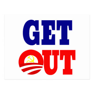 Get Out of the White House Postcard