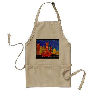 """""""Get out of town"""" Apron"""