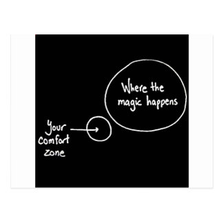 Get Out of Your Comfort Zone Postcard