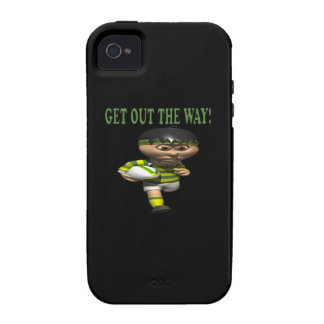 Get Out The Way iPhone 4/4S Case