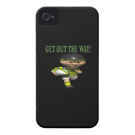 Get Out The Way Case-Mate iPhone 4 Cases