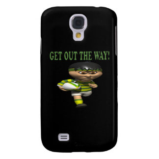 Get Out The Way Samsung Galaxy S4 Cover