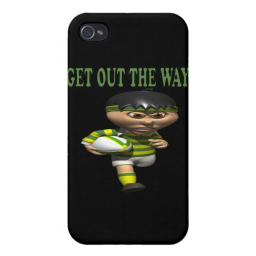 Get Out The Way iPhone 4/4S Cover