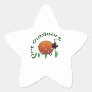 GET OUTDOORS STAR STICKER