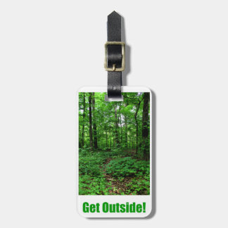Get Outside Luggage Tag