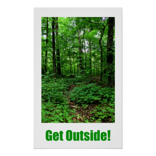 Get Outside Poster