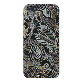 Get Paisley - Diamonds Pern Cover For iPhone 5/5S