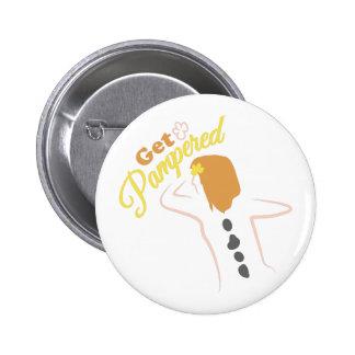 Get Powered 6 Cm Round Badge