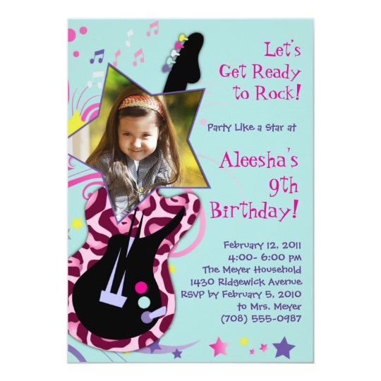 Get Ready to Rock! Rock Star Diva Party