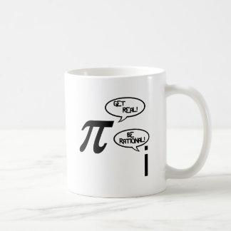 Get Real Basic White Mug