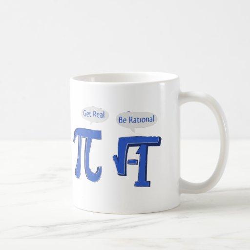 Get Real Be Rational Mugs