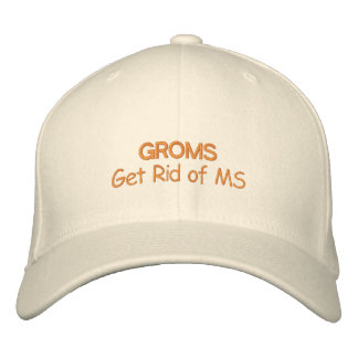 Get Rid of Multiple Sclerosis Embroidered Hats