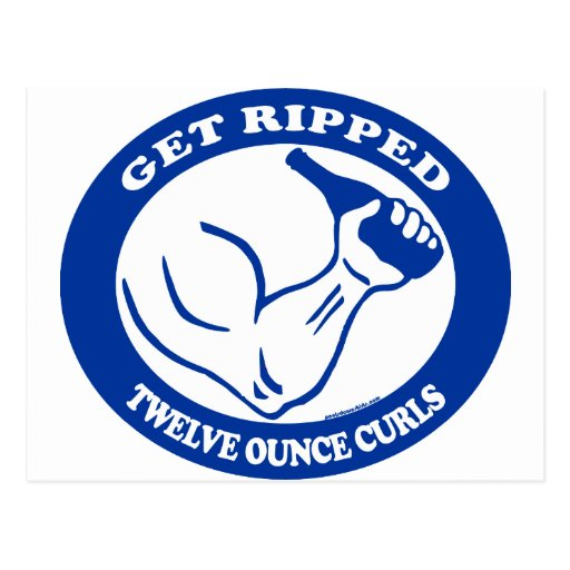 GET RIPPED POST CARDS