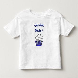 Get set bake blue cupcake tees