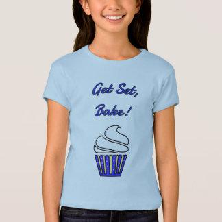 Get set bake off blue cupcake T-Shirt