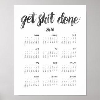 Calendar Posters
