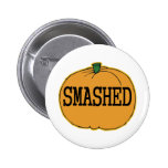 Get Smashed pumpkin Buttons