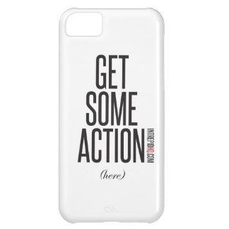 Get Some Action iPhone 5C Cover