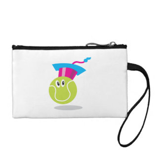 Get Sporty_Tennis_Bouncee™ smiling tennis ball Coin Purses