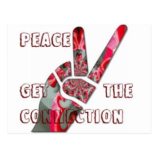 Get the connection for Peace HakunaMatata Postcard