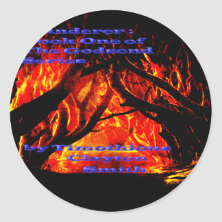 Get The Dark Road From the Wanderer on Everything Round Sticker