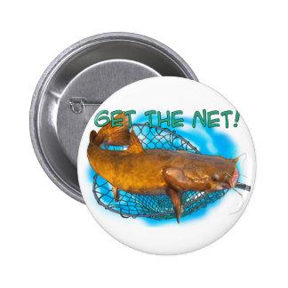 Get the Net 6 Cm Round Badge