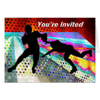 Get the Quarterback You're Invited Greeting Card