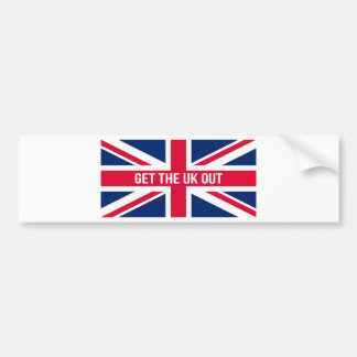 Get The UK Out of the EU Bumper Sticker