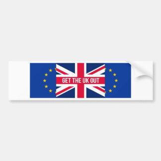 Get The UK Out of the EU Bumper Sticker
