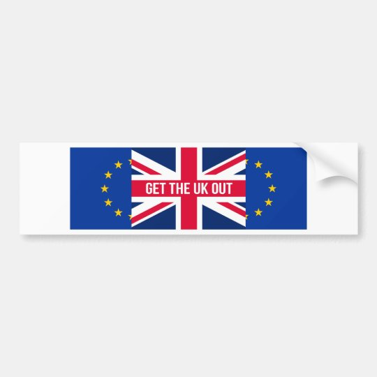 Get The UK Out of the EU Bumper