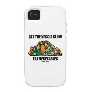 Get The Veggie Glow Eat Vegetables iPhone 4/4S Cover
