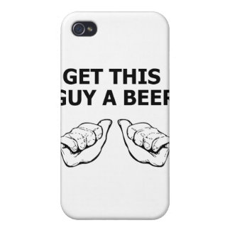 Get This Guy A Beer Cover For iPhone 4