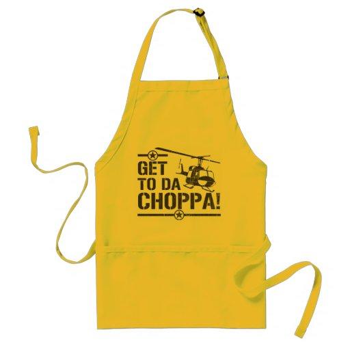 Get To Da Choppa Vintage Apron