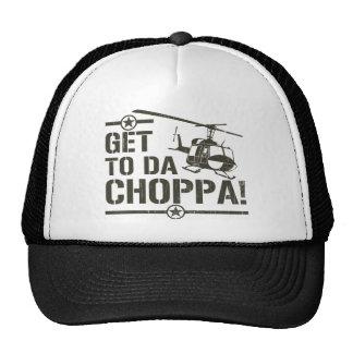 Get To Da Choppa Vintage Cap