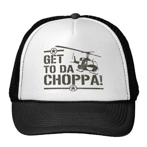 Get To Da Choppa Vintage Hat