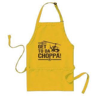 Get To Da Choppa Vintage Standard Apron