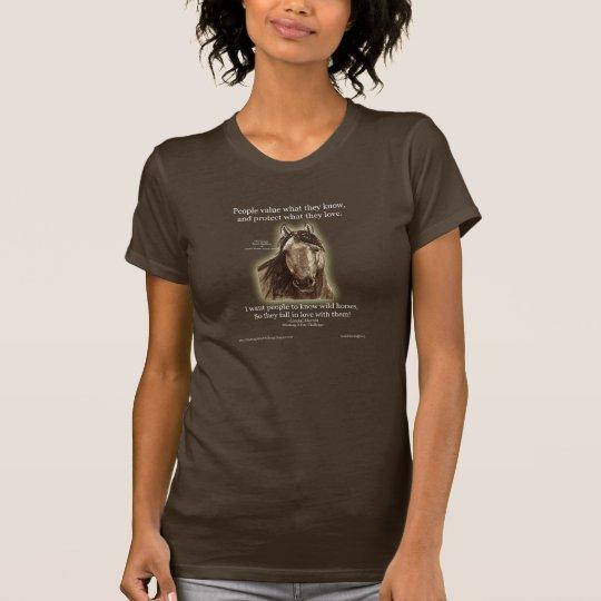 Get to Know Wild Horses Dark T-shirt~ LLMartin T-Shirt