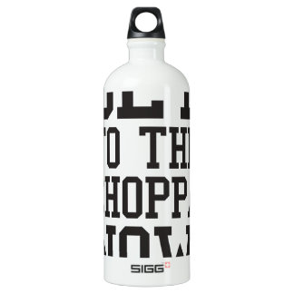 GET TO THE CHOPPA NOW! SIGG TRAVELLER 1.0L WATER BOTTLE
