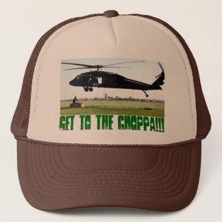 Get to the choppa!!! trucker hat