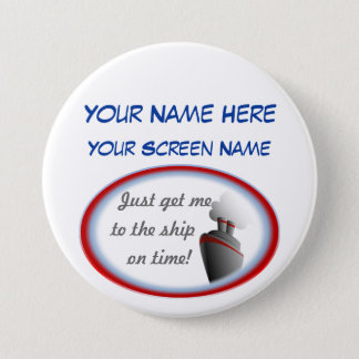 Get to the Ship Cruise Name Badge